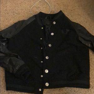 True Religion letterman's jacket